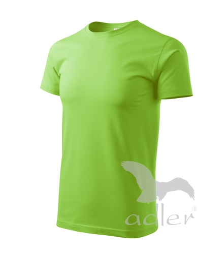 Tričko Basic apple green XXXXL