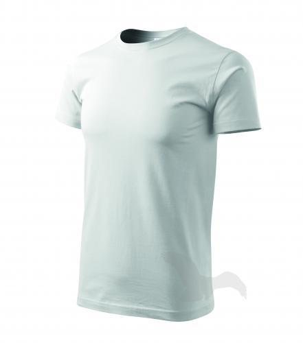 Basic tričko pánské bílá 3XL