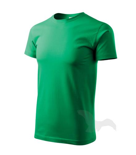 Basic tričko pánské středně zelená XL