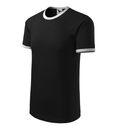 Tričko unisex Infinity černá/bílá XXXL