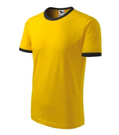 Tričko unisex Infinity žlutá/černá XXXL