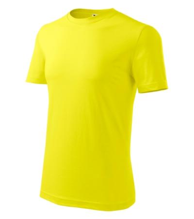 Classic New tričko pánské citronová 3XL
