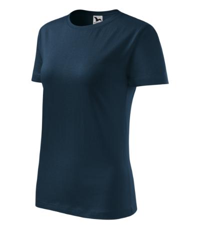Tričko dámské Classic New námořní modrá 2XL