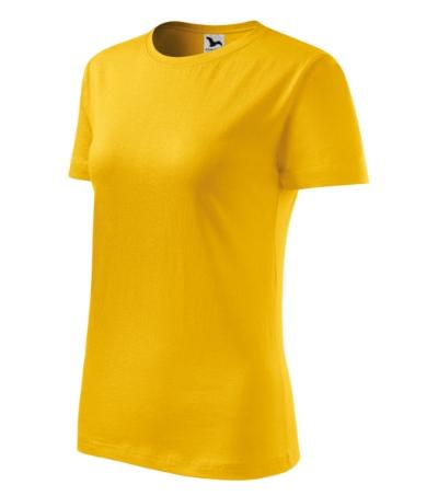 Tričko dámské Classic New žlutá XXL