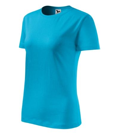 Tričko dámské Classic New tyrkysová 2XL