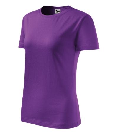 Tričko dámské Classic New fialová 2XL