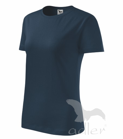 Tričko dámské Basic námořní modrá XXL