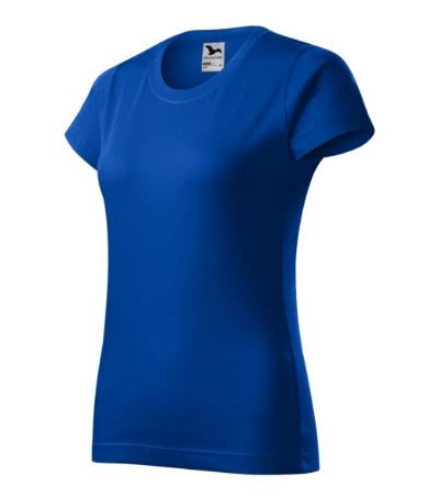 Tričko dámské Basic královská modrá XXL