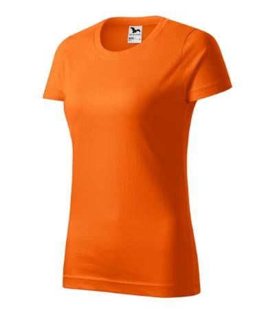 Tričko dámské Basic oranžová XXL