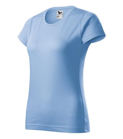 Basic tričko dámské nebesky modrá 2XL