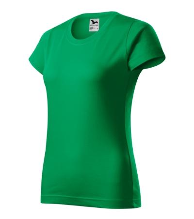 Tričko dámské Basic středně zelená 2XL