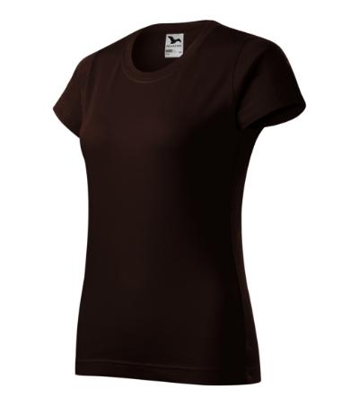 Basic tričko dámské kávová 2XL