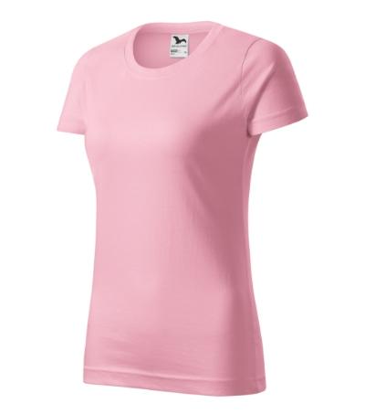 Tričko dámské Basic růžová XXL