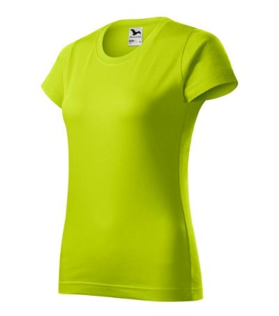 Tričko dámské Basic 160 limetková XXL
