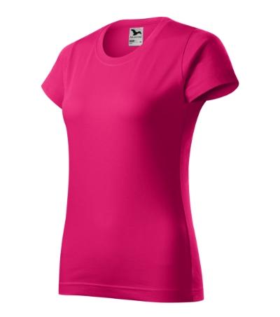 Tričko dámské Basic malinová XXL