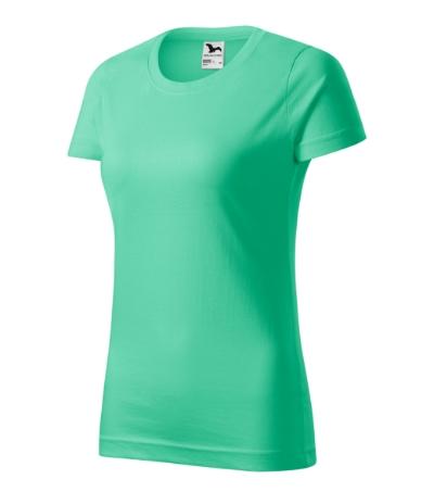 Tričko dámské Basic mátová 2XL