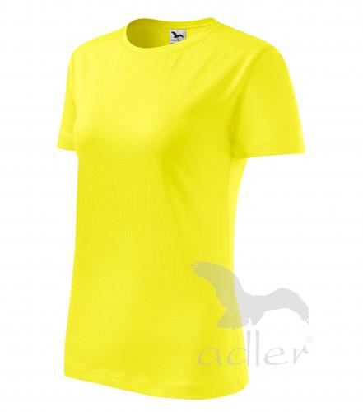 Basic tričko dámské citronová 2XL