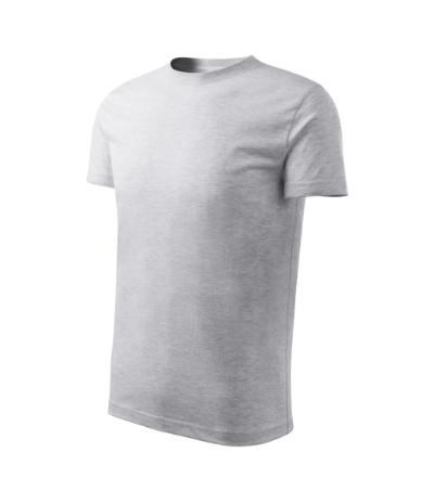 Tričko dětské Classic New světle šedý melír 146 cm