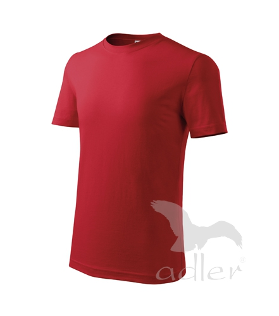Tričko dětské Classic New červená 10 let