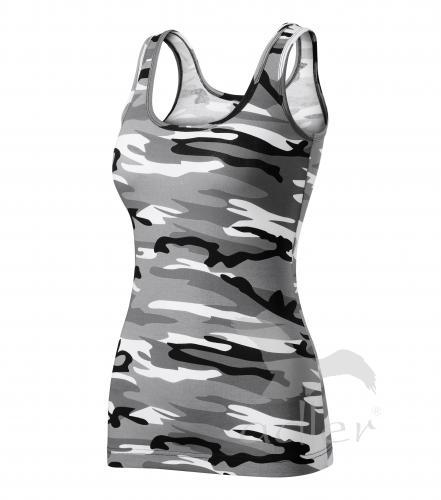 Triumph tílko dámské camouflage gray 2XL
