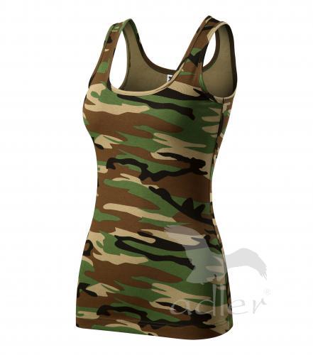 Triumph tílko dámské camouflage brown 2XL