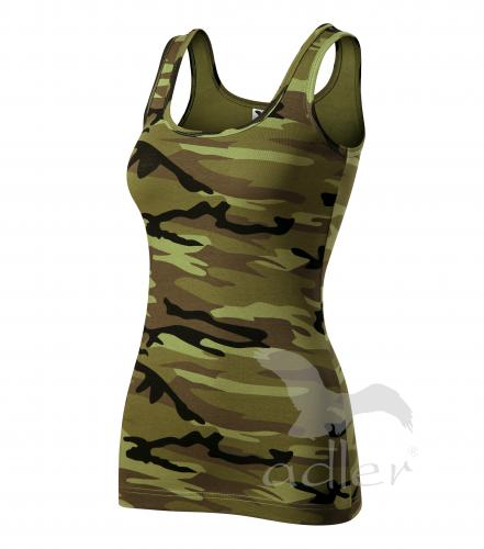 Triumph tílko dámské camouflage green 2XL