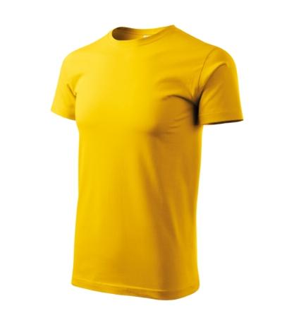 Tričko Heavy New žlutá 3XL