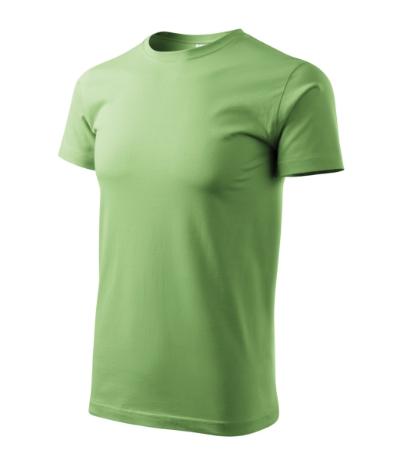 Tričko Heavy New trávově zelená 3XL
