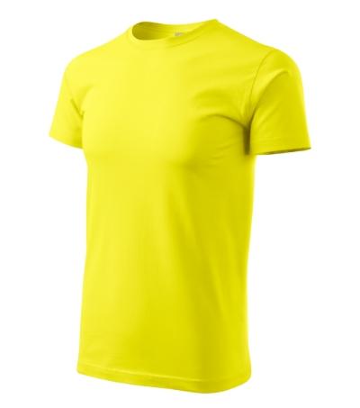 Heavy New tričko unisex citronová 3XL