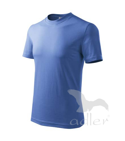 Tričko dětské Basic azurově modrá 10 let
