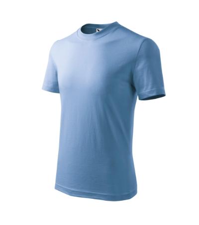 Tričko dětské Basic nebesky modrá 10 let