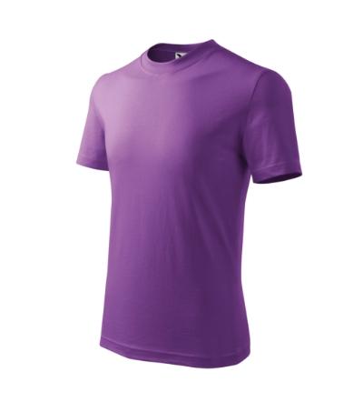 Tričko dětské Basic fialová 10 let