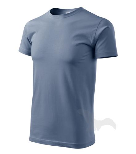 Heavy New tričko unisex denim 3XL