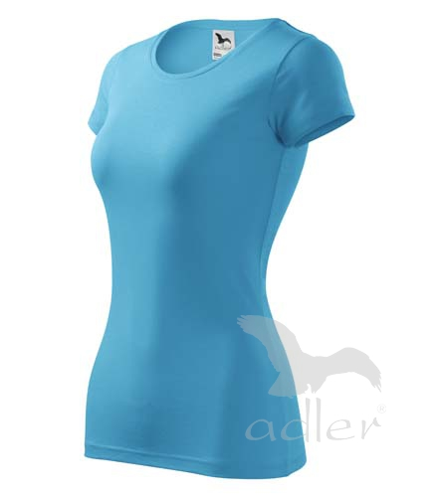 Tričko dámské Glance tyrkysová 2XL