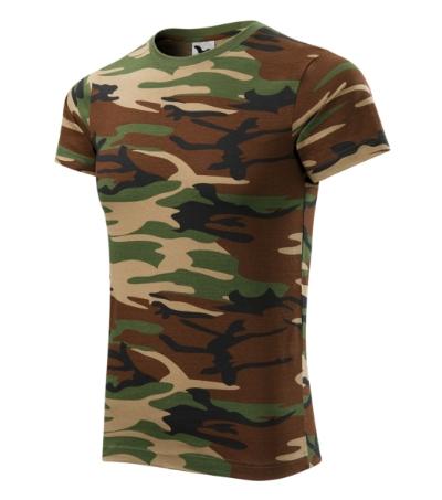 Tričko Camouflage camouflage brown XXXL