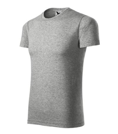 Tričko Element tmavě šedý melír 3XL