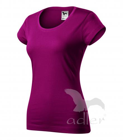 Viper tričko dámské fuchsia red 2XL