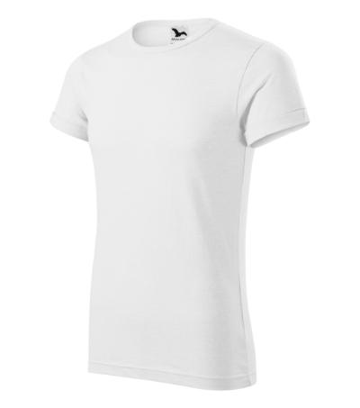 Fusion tričko pánské bílá 3XL