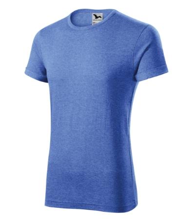Fusion tričko pánské modrý melír 3XL