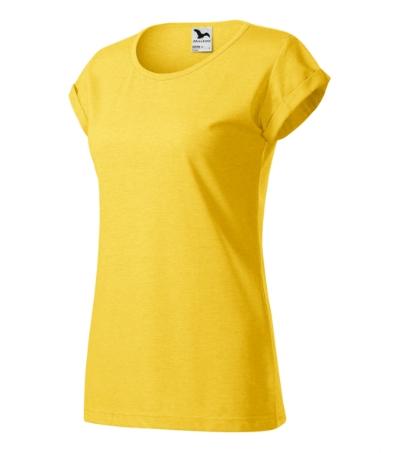 Fusion tričko dámské žlutý melír 2XL