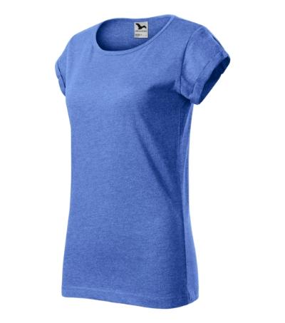 Fusion tričko dámské modrý melír 2XL