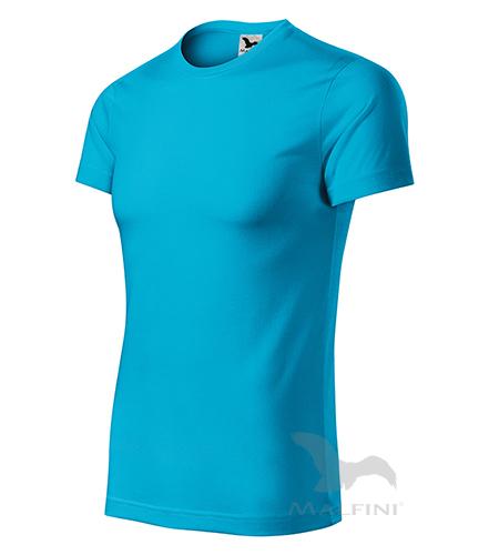 Star tričko unisex tyrkysová 3XL