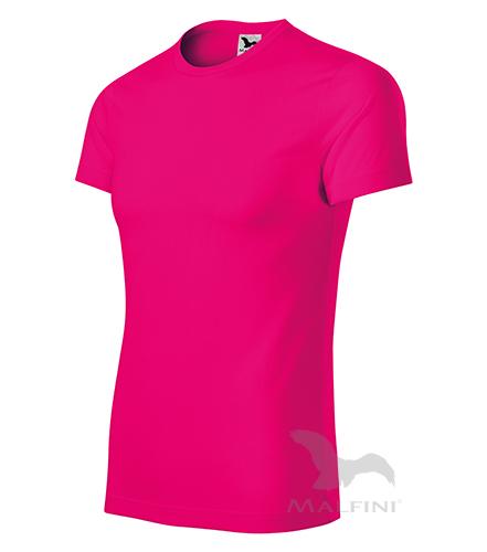 Star tričko unisex neon pink 3XL