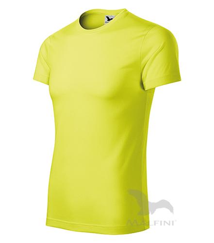 Star tričko unisex neon yellow 3XL