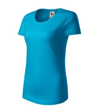 Origin tričko dámské tyrkysová 2XL