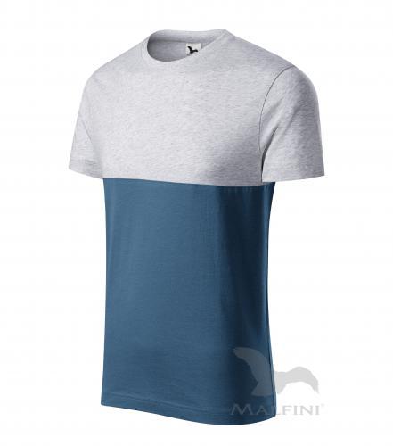 Connection tričko unisex světle šedý melír 3XL