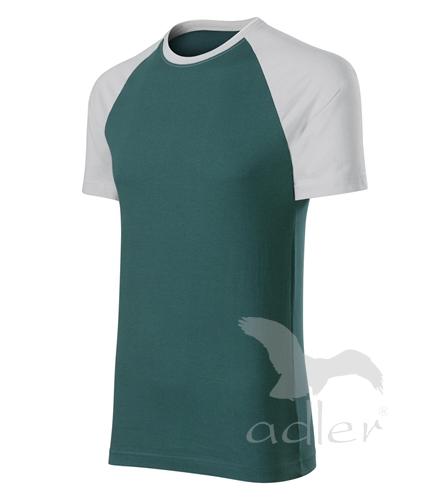 Duo tričko unisex lahvově zelená XXXL