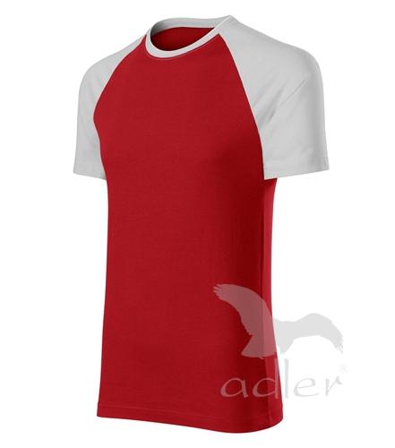 Duo tričko unisex červená XXXL