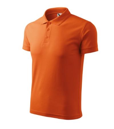 Polokošile pánská Pique Polo oranžová XXXXL