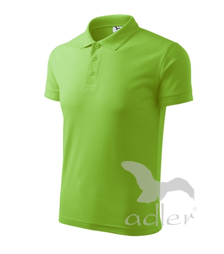 Polokošile pánská Pique Polo apple green 3XL